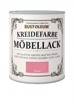 Kreidefarbe Mobellack Altrosa