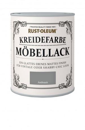 Kreidefarbe Mobellack Anthrazit