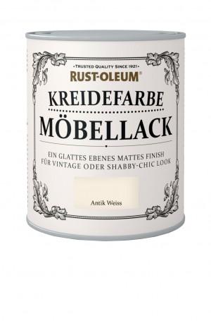 Kreidefarbe Mobellack Antik Weiss
