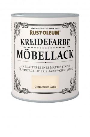 Kreidefarbe Mobellack Gebrochenes Weiss