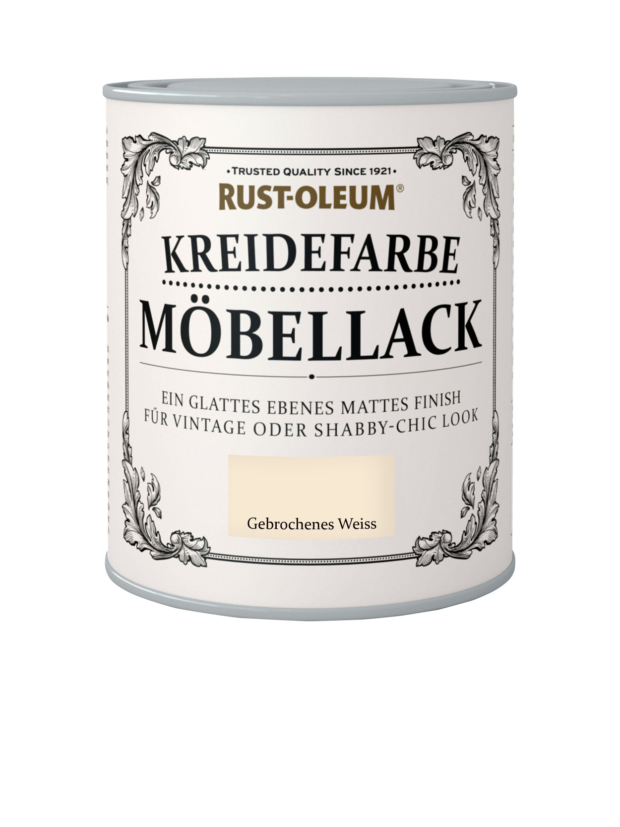kreidefarbe mobellack gebrochenes weiss rustoleum spray. Black Bedroom Furniture Sets. Home Design Ideas