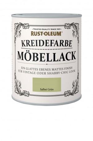 Kreidefarbe Mobellack Salbei Grun