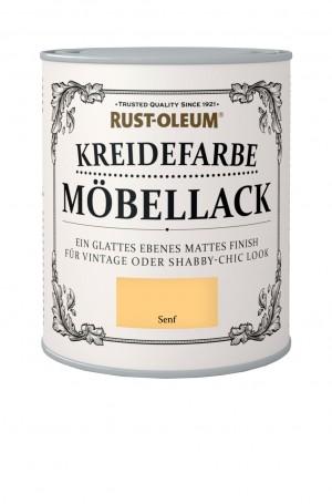 Kreidefarbe Mobellack Senf