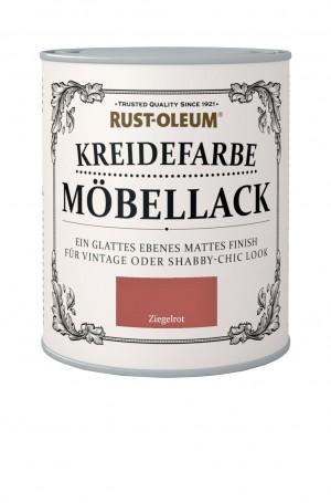 Kreidefarbe Mobellack Ziegelrot