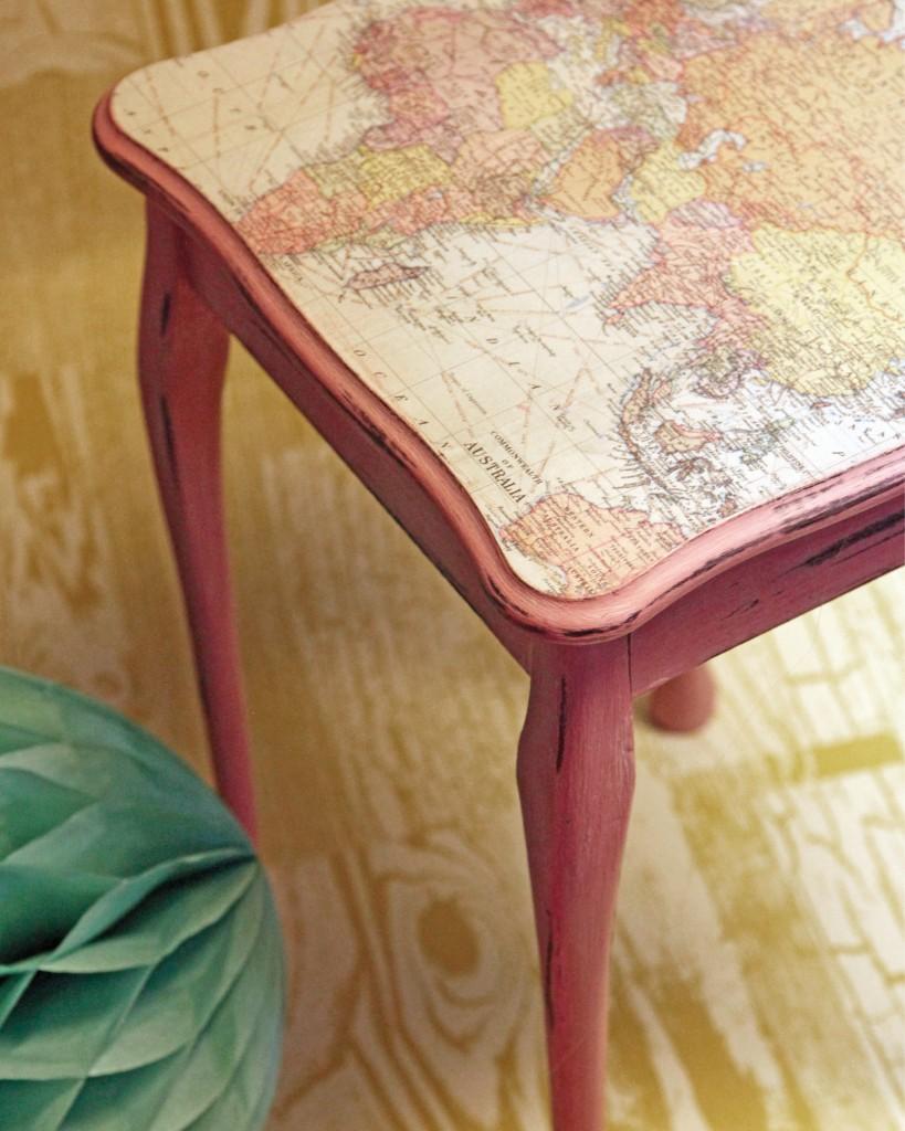 Kreidefarbe Möbellack Tische