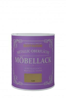 Metallic-Oberflache Mobellack Gold
