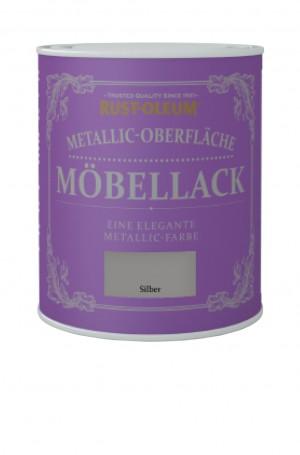 Metallic-Oberflache Mobellack Silber