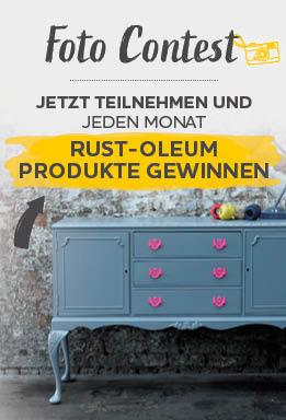Foto Contest Jetzt Teilnehmen und Jeden Monat Rust-oleum Produkte Gewinnen
