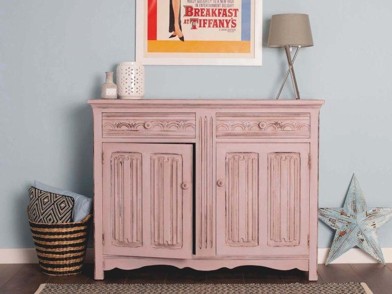 shabby chic kommode rustoleum spray paint www. Black Bedroom Furniture Sets. Home Design Ideas