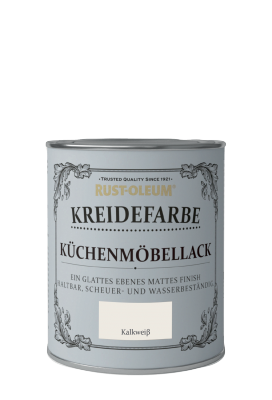 Rust-Oleum Kreidefarben Küchenmöbellack Kalkweiß