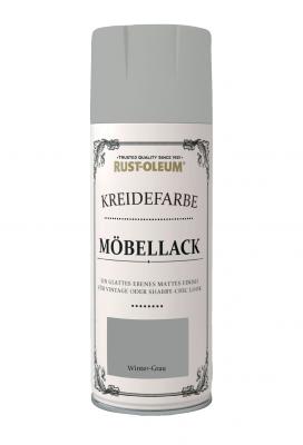 Kreidefarben Möbellack Spray Wintergrau
