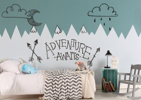 Leinwand im Kinderzimmer – mit Doodle Wall